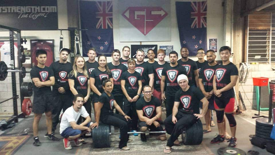 Getstrength Powerlifting Team