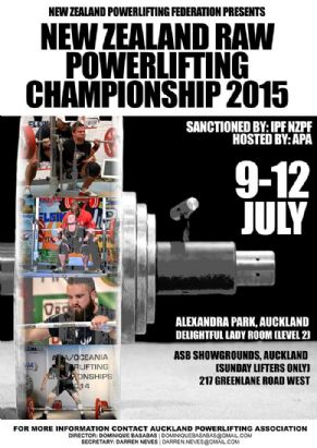 Team GetStrength had an AMAZING 2015 NZPF Raw Powerlifting Nationals,