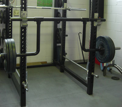 GS Rack-able Cambered Squat Bar Legacy