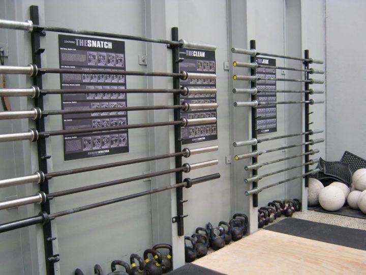 Wall Mounted Bar Rack (pair)
