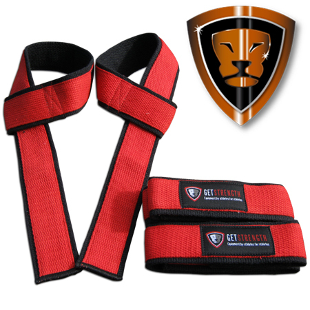 GS Lifting Straps Red (Special Edition)