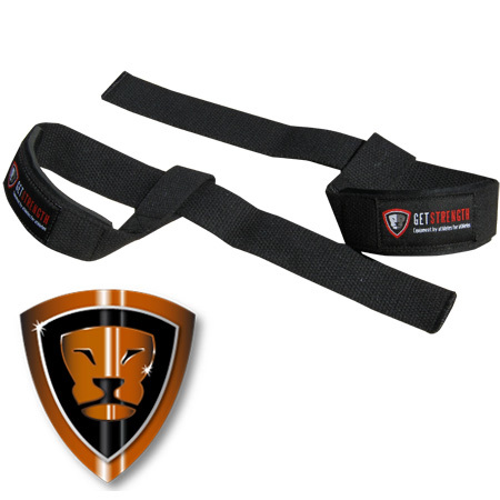 GS Lifting Strap with Wrist Pad (pair)