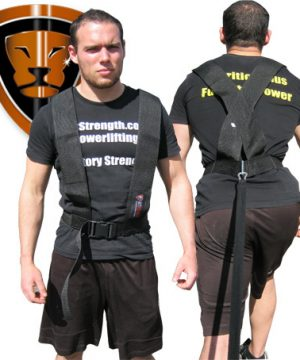 Sprinting and Pulling Harness (includes pulling strap)