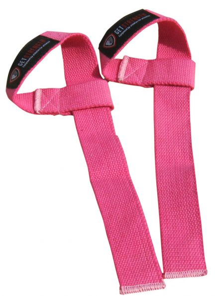 GS Pink Lifting Straps (pair)