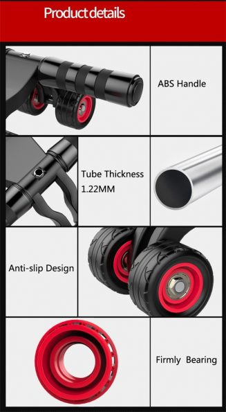 Professional Heavy Duty Abdominal Roller