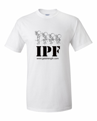 New IPF Powerlifting T-Shirt