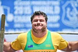 New Front Squat Harness World Record – Dave Napper from Australia