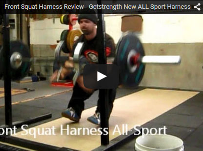 Front Squat Harness Review New All Sport (Video)