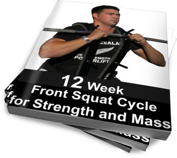 12 Week Front Squat Cycle