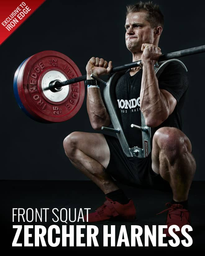 New Australian Distributor Of The World Famous Gs Front Squat Zercher Harness Iron Edge Getstrength Strength Training Programs For Beginners To Elite Athletes