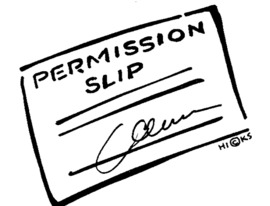 Permission Slip – By John Rahme