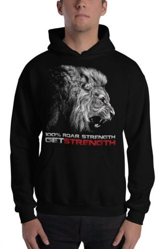 GS 100% Roar Strength Hooded Sweatshirt