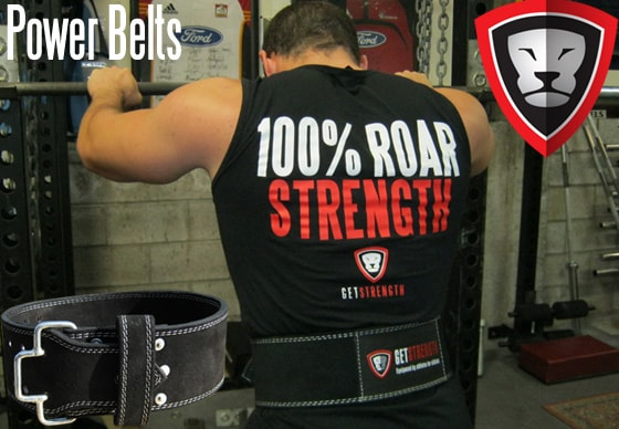 Great News: GS Powerlifting Belts are back in stock from small to 7xl
