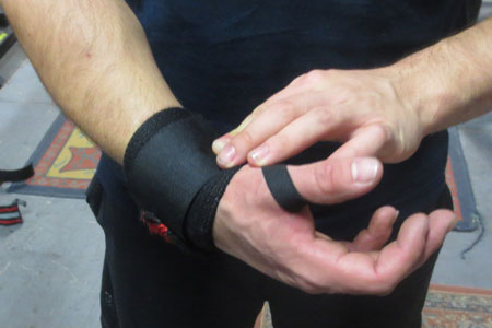 wrist wrap Powerlifting